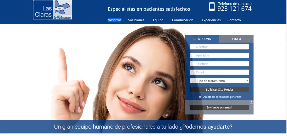 Trabajos realizados dise o web madrid y salamanca - Clinica dental mediterranea ...